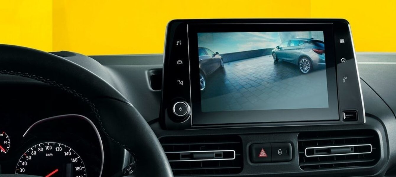 Opel Combo Cargo kamera