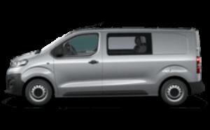 Opel vivaro z dvojno kabino
